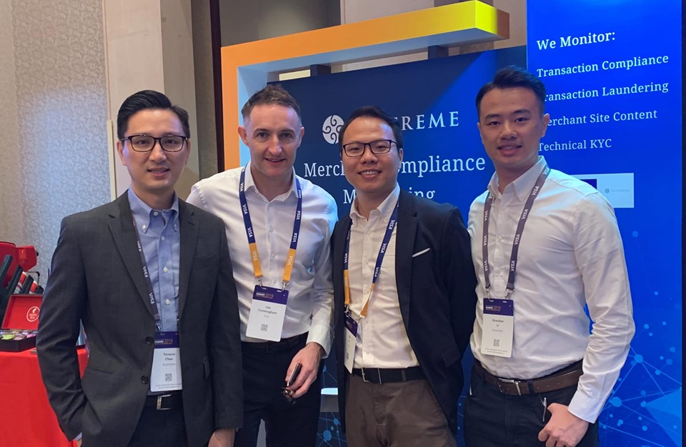 Austreme Exhibited at Visa Security Summit 2019 in Shanghai, China