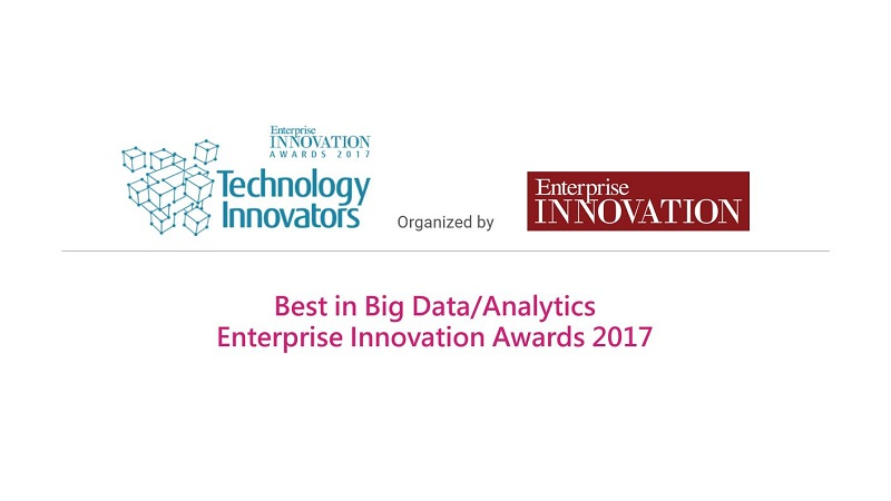 Austreme Awarded Best in Big Data/Analytics Category for Enterprise Innovation Awards 2017