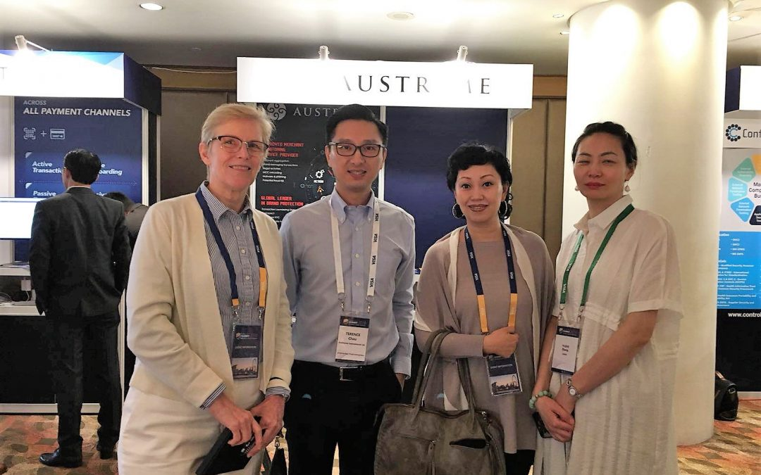 Austreme Exhibit at Visa Security Summit 2018 in Singapore